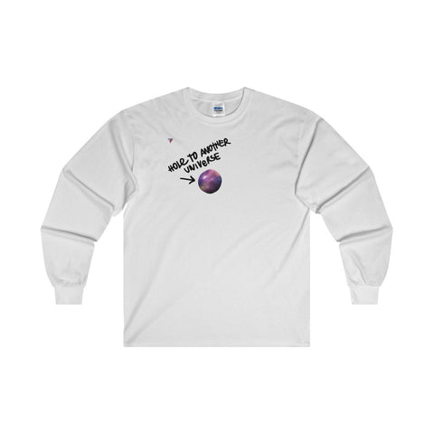Hole To Another Universe Ultra Cotton Long Sleeve T-Shirt