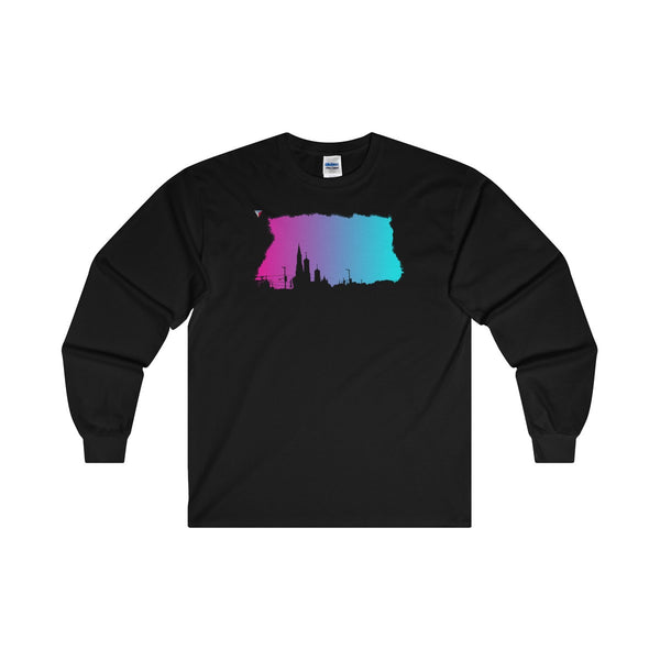 Neon Skyline Ultra Cotton Long Sleeve T-Shirt