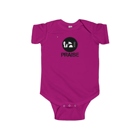 Praise Kek Black Infant Fine Jersey Bodysuit