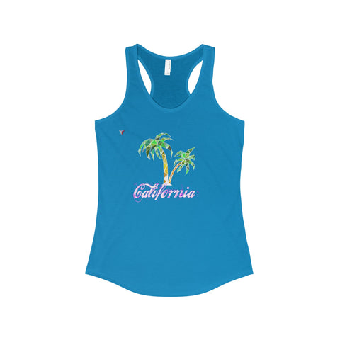 California Palm Tree - The Ideal Racerback Tank