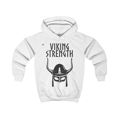 Viking Strength Black Gym Kids Hoodie