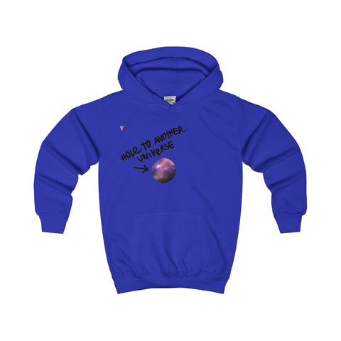 Hole To Another Universe Kids Hoodie