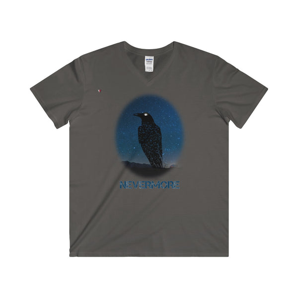 Raven Nevermore Softstyle® Adult V-Neck T-Shirt