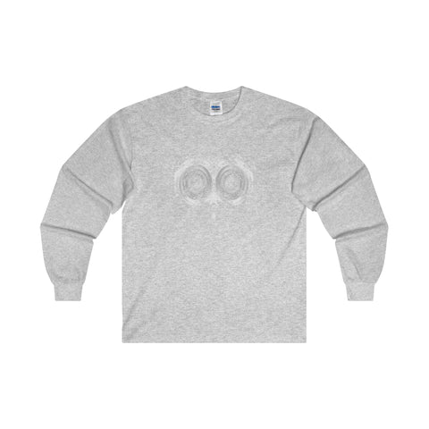 Halloween Psycho Owl Ultra Cotton Long Sleeve T-Shirt