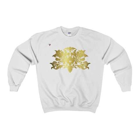 Gold Baroque Heavy Blend™ Adult Crewneck Sweatshirt
