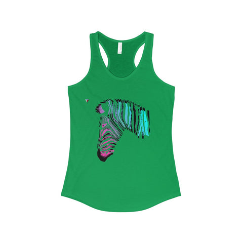 Neon Zebra The Ideal Racerback Tank