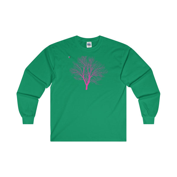 Pink Tree Ultra Cotton Long Sleeve T-Shirt