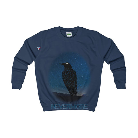 Raven Nevermore Kids AWDis Sweat