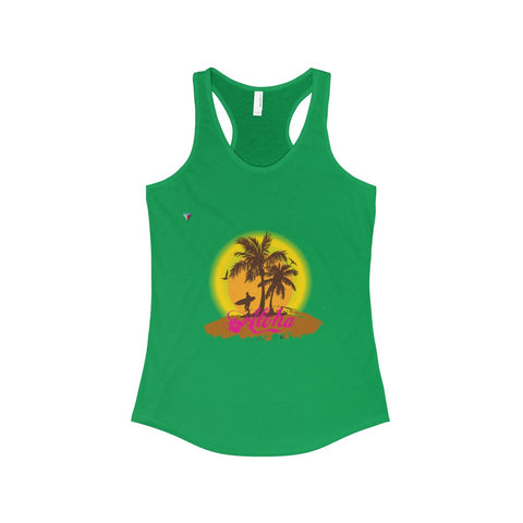 Hawaii Aloha Style The Ideal Racerback Tank