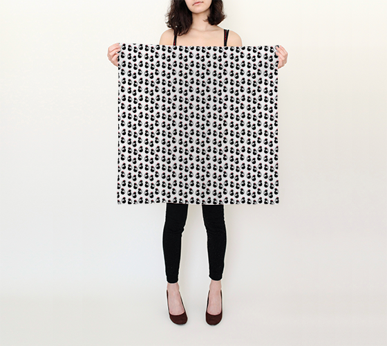 "Cool Cats Square Scarf (26"" x 26"")"