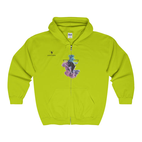 The Unicorn - Adult Full Zip Hooded Sweatshirt