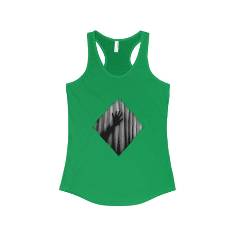 Halloween Psycho Horror The Ideal Racerback Tank