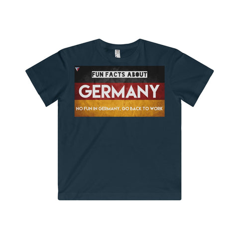 Germany Fun Facts Youth Fine Jersey Tee