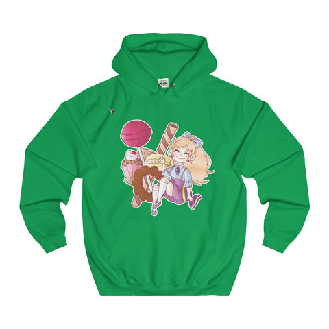 Cute Girl With Sweets Hoodie