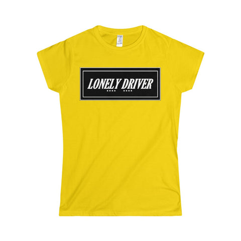 Lonely Driver Softstyle Women's T-Shirt