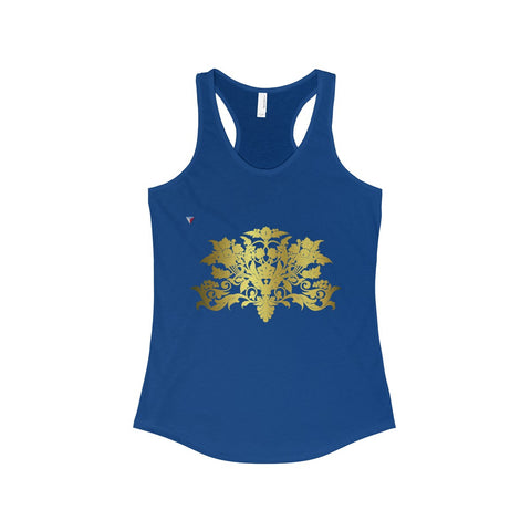 Gold Baroque The Ideal Racerback Tank