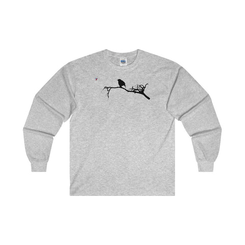 Black Bird Ultra Cotton Long Sleeve T-Shirt