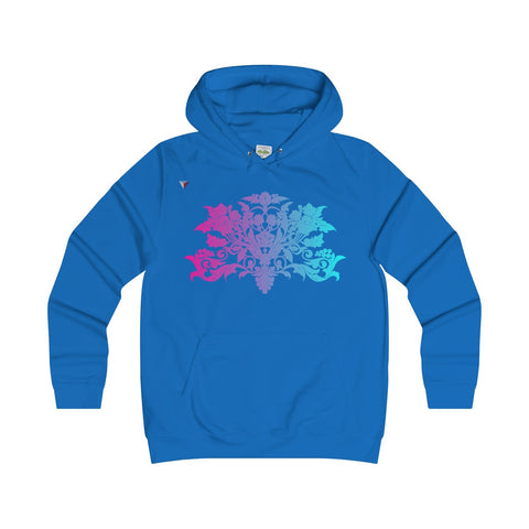 Colorful Baroque Girlie Hoodie