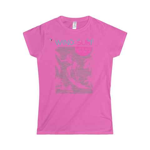 Wind Surf Miami Softstyle Women's T-Shirt