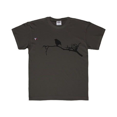 Black Bird Youth Regular Fit Tee