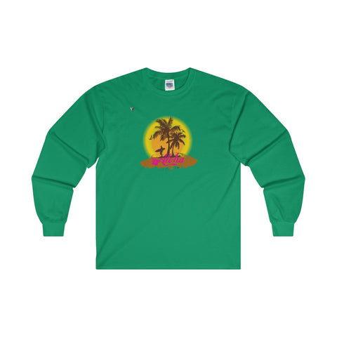 Hawaii Aloha Style Ultra Cotton Long Sleeve T-Shirt