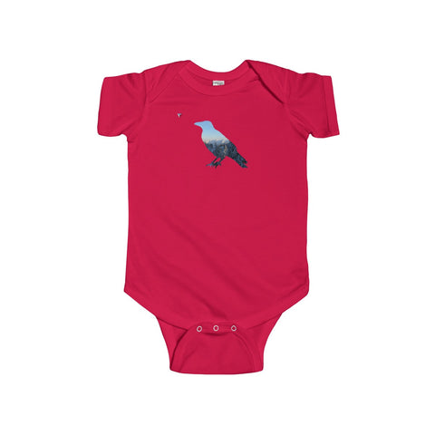 Mountain Raven Infant Fine Jersey Bodysuit