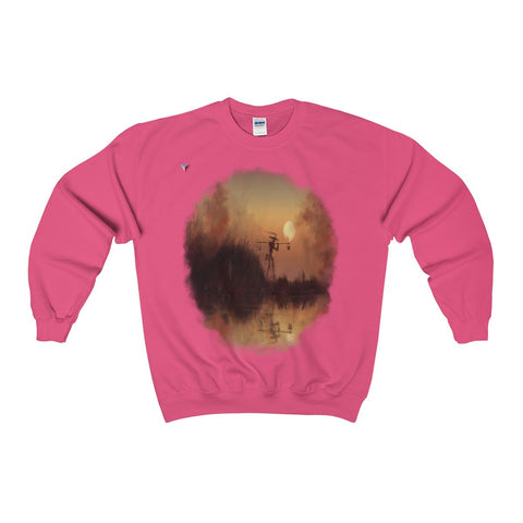 Japanese Sundown Heavy Blend™ Adult Crewneck Sweatshirt