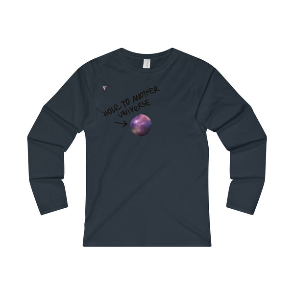 Hole To Another Universe Ladies' Long Sleeve T-Shirt