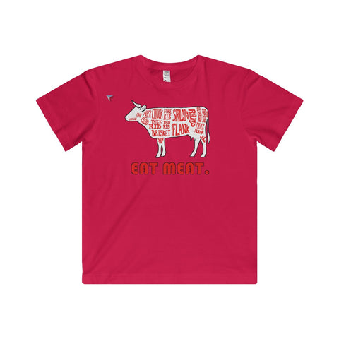 Eat Meat Youth Fine Jersey Tee