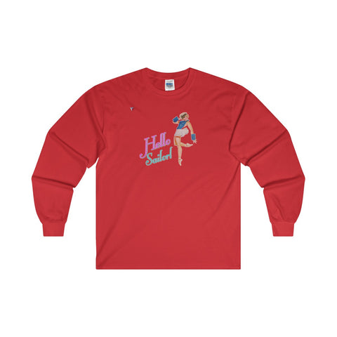 Hello Sailor! Ultra Cotton Long Sleeve T-Shirt