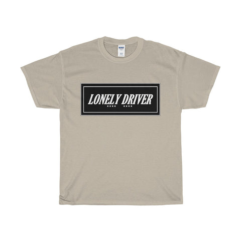 Lonely Driver Heavy Cotton T-Shirt
