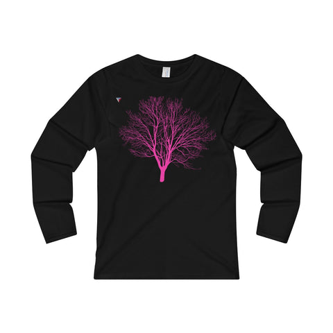 Pink Tree Ladies' Long Sleeve T-Shirt