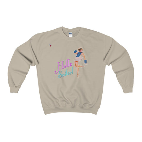 Hello Sailor! Heavy Blend™ Adult Crewneck Sweatshirt