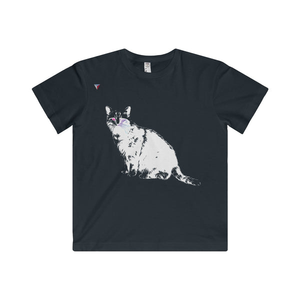 White Cat Youth Fine Jersey Tee