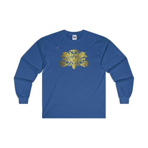 Gold Baroque Ultra Cotton Long Sleeve T-Shirt