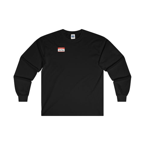Hi, I'm Hugh Mungus Ultra Cotton Long Sleeve T-Shirt