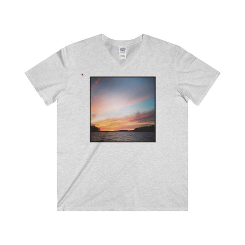 Natural Beauty Softstyle® Adult V-Neck T-Shirt