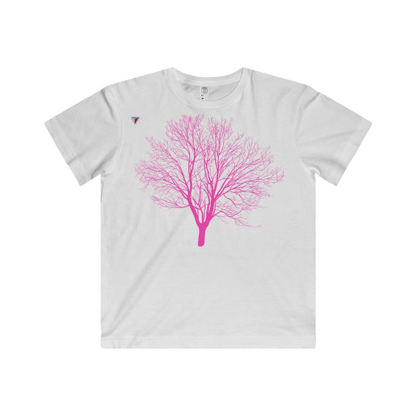 Pink Tree Youth Fine Jersey Tee