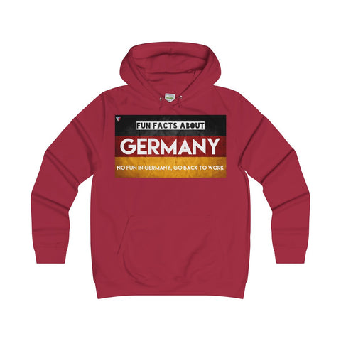 Germany Fun Facts Girlie Hoodie