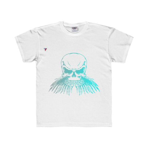 Neon Skull Youth Regular Fit Tee