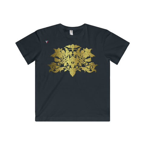Gold Baroque Youth Fine Jersey Tee