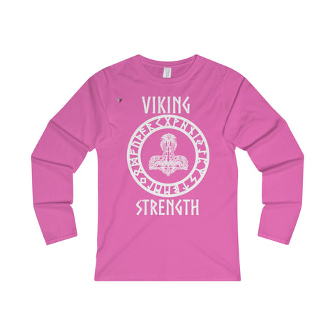 Viking White Ladies' Long Sleeve T-Shirt
