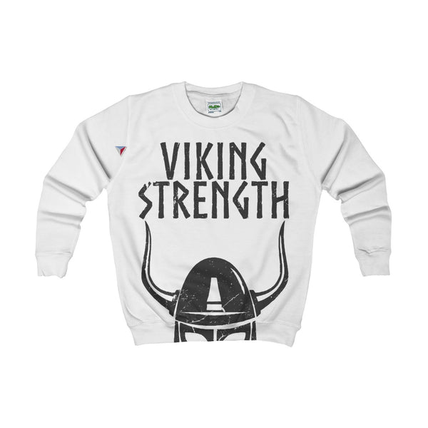 Viking Strength Black Gym Kids AWDis Sweat