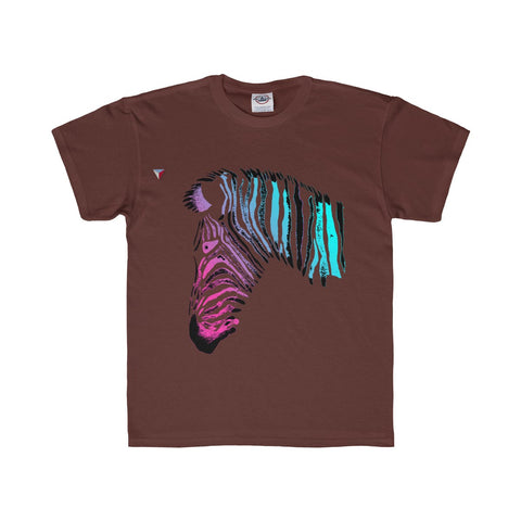 Neon Zebra Youth Regular Fit Tee