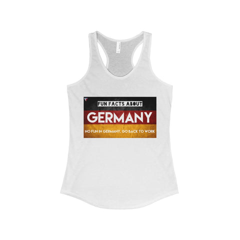Germany Fun Facts The Ideal Racerback Tank