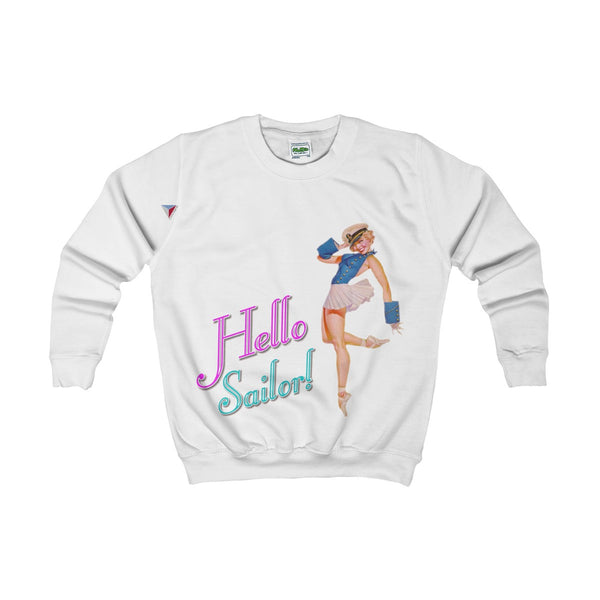 Hello Sailor! Kids AWDis Sweat