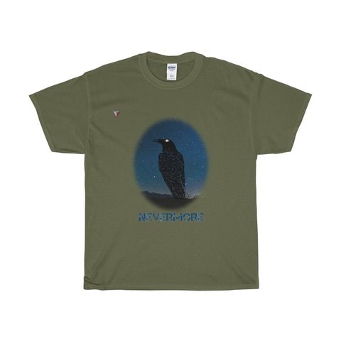 Raven Nevermore Heavy Cotton T-Shirt