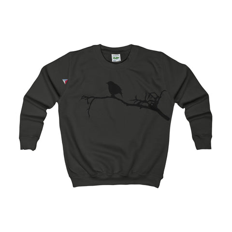 Black Bird Kids AWDis Sweat