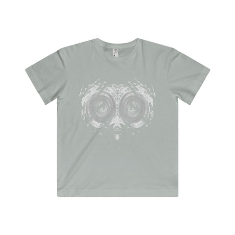 Halloween Psycho Owl Youth Fine Jersey Tee