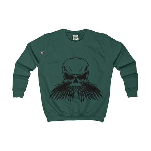 Black Skull Kids AWDis Sweat